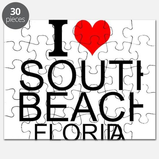 I Love South Beach, Florida Puzzle