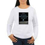 How Important Are We? Women's Long Sleeve T-Shirt