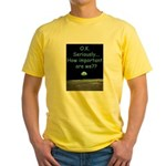 How Important Are We? Yellow T-Shirt