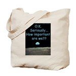 How Important Are We? Tote Bag