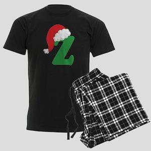 Christmas Letter Z Alphabet Pajamas