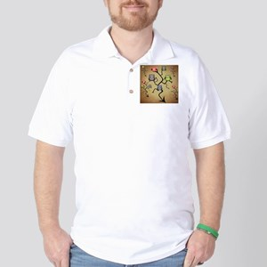 Extended Brown Owl Tree Golf Shirt