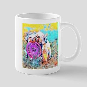 Frisbee Play Mugs