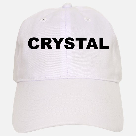 Crystal Baseball Baseball Cap
