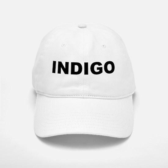 Indigo Baseball Baseball Cap