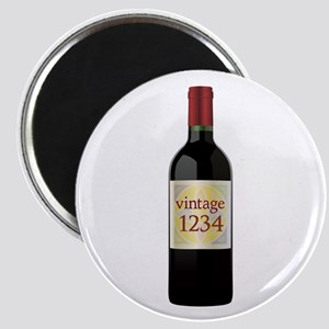 Custom Vintage Wine Magnets