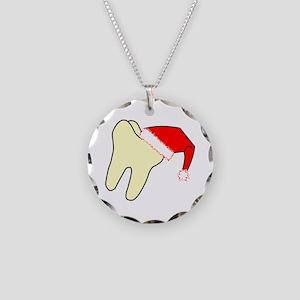 Santa Cap Tooth Necklace