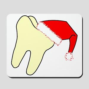 Santa Cap Tooth Mousepad