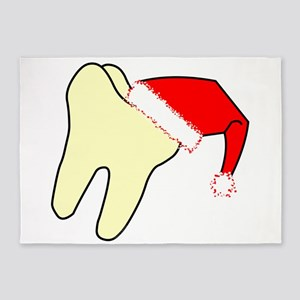 Santa Cap Tooth 5'x7'Area Rug
