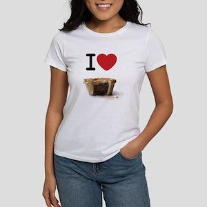 I Heart MeatPie Women's Cap Sleeve T-Shirt
