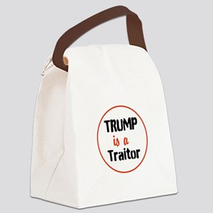 Trump is a traitor Canvas Lunch Bag