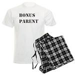 Bonus Parent Men's T-Shirt And Pajama Pajamas