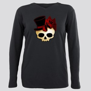 Cute Gothic Skull In Top Ha T-Shirt