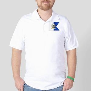 Alpha Flag (CD) Golf Shirt