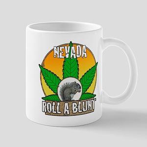 Roll a blunt Nevada Mug