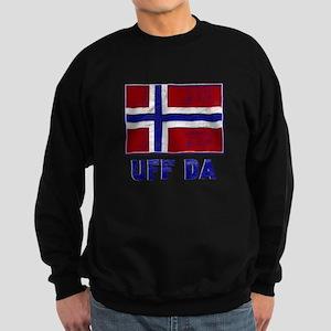 Uff Da Norway Flag Sweatshirt