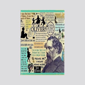 Dickens Rectangle Magnet Magnets