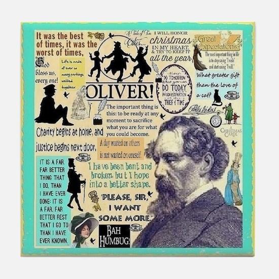 Dickens Tile Coaster