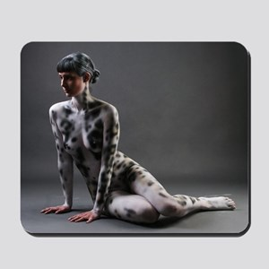Bodypainted Onza Mousepad