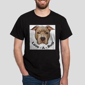 Love-A-Bull 1 Ash Grey T-Shirt