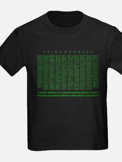 prime numbers: mathematics T-Shirt
