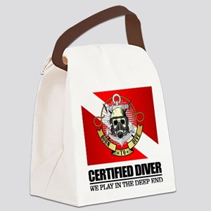 Certified Diver (BDT) Canvas Lunch Bag