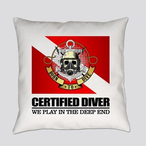 Certified Diver (BDT) Everyday Pillow