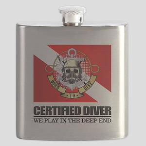 Certified Diver (BDT) Flask