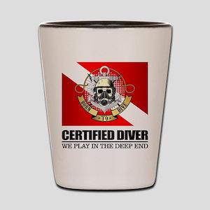 Certified Diver (BDT) Shot Glass