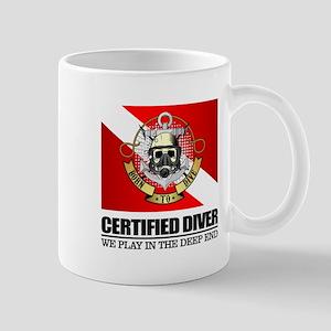 Certified Diver (BDT) Mugs