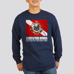 Certified Diver (BDT) Long Sleeve T-Shirt