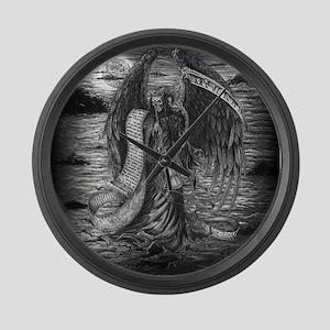 Grim Reaper Large Wall Clock