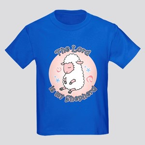 Lord Is My Shepherd Kids Dark T-Shirt