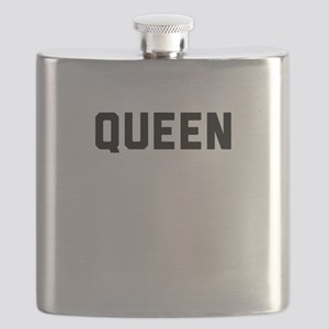king and queen couple Flask