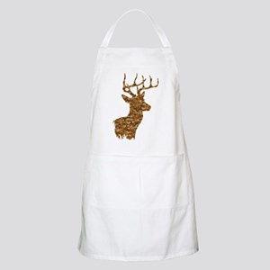 Brown Camo Deer Light Apron