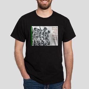 Hemp War History Dark T-Shirt