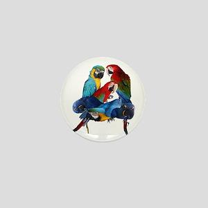 Macaws Mini Button