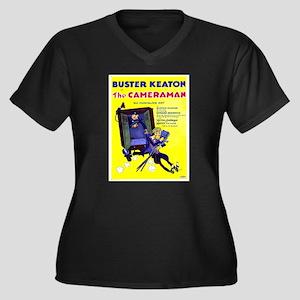 Vintage poster - The Cameraman Plus Size T-Shirt