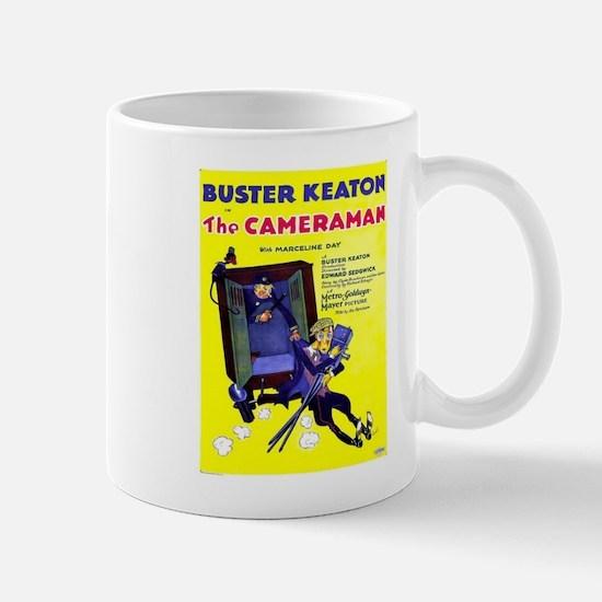 Vintage poster - The Cameraman Mugs