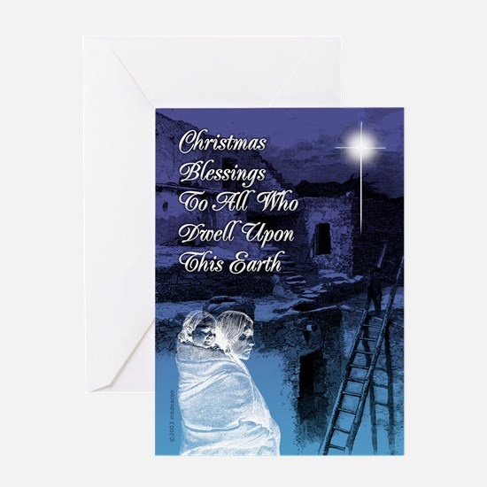 Christmas Blessings Cards (Pk of 10) Greeting Card