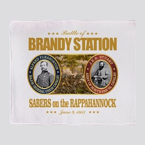 Brandy Station (FH2) Throw Blanket