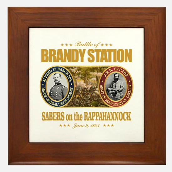 Brandy Station (FH2) Framed Tile