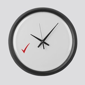 Single - Taken - Rower - It's Com Large Wall Clock