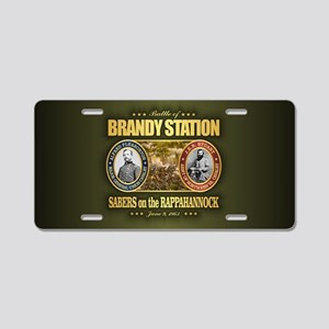Brandy Station Aluminum License Plate
