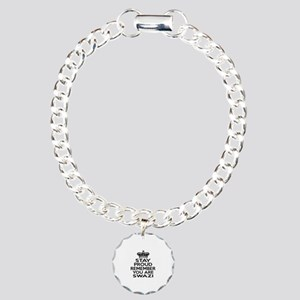 Stay Proud Remember You Charm Bracelet, One Charm