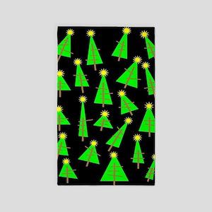 Christmas Trees Area Rug