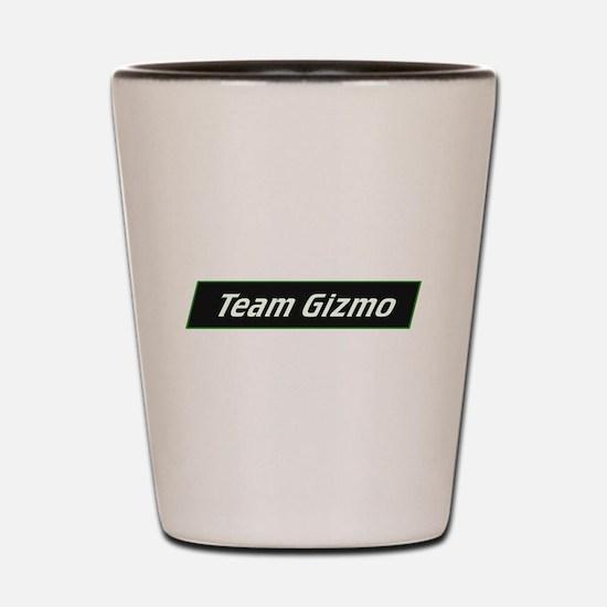 Team Gizmo Logo Shot Glass