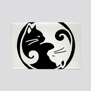 Ying Yang Cats Magnets
