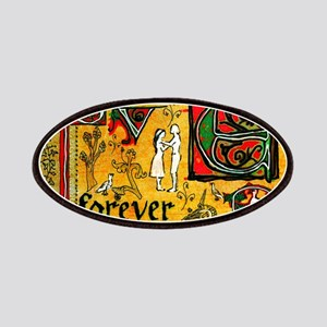 Medieval Love Forever Patch