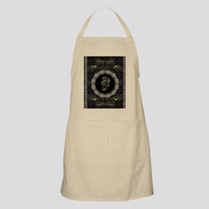 Wonderful dragon, vintage background Apron